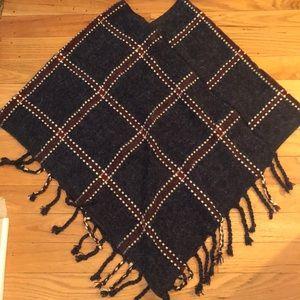 Sweaters - NWOT wool poncho sweater